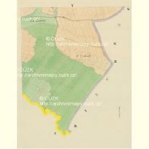Malletitz (Maletice) - c4416-1-004 - Kaiserpflichtexemplar der Landkarten des stabilen Katasters