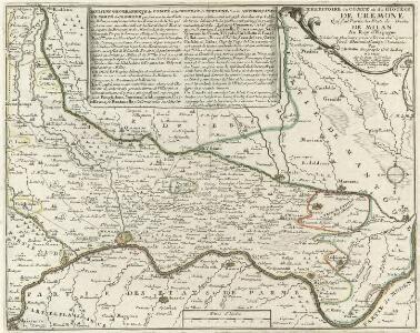 Territoire du Comte et du Diocese de Cremone Qui fait Partie des E'tats du Duché de Milan Au Roy d'Espagne