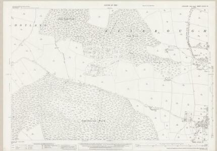 Yorkshire CCLXII.13 (includes: Cawthorne; Darton; High Hoyland) - 25 Inch Map