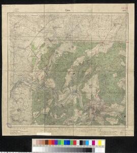 Meßtischblatt 3271 : Ems, 1905