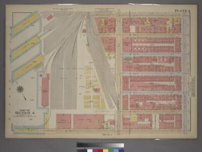Plate 2, Part of Section 4: [Bounded by W. 65th Street, Amsterdam Avenue, W. 59th Street and (Hudson River Piers) West End Avenue.]