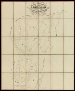 Plano geometrico del pueblo de S. Martin Sascors, partido judicial de Vich
