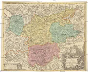 Comitatus principalis Tirolis in quo episc. Tridentin[us] et Brixensis, comitatus Brigantinus, Feldkirchiae Sonnebergae et Pludentii accurate exhibentur