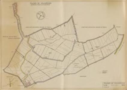 Polder de Volharding, gemeente Strijen en 's-Gravendeel.
