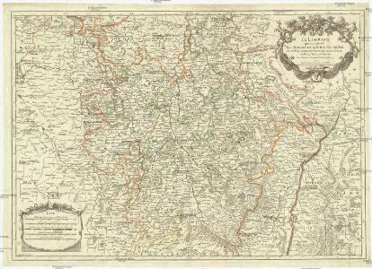La Lorraine, qui comprend les duchés de Lorraine et de Bar et les bailliages des eveschés et des villes de Metz, Toul, et Verdun