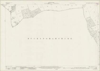 Hertfordshire XXXII.12 & 11 (includes: Ashley Green; Berkhampstead Urban; Chartridge; Cholesbury Cum St Leonards; Northchurch; Wigginton) - 25 Inch Map