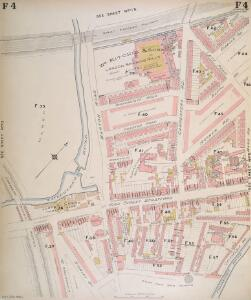 Insurance Plan of London North East District Vol. F: sheet 4