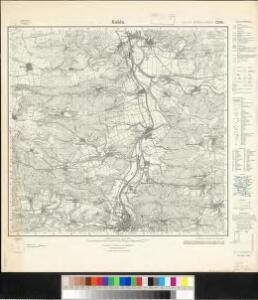 Meßtischblatt 2999 : Kahla, 1933