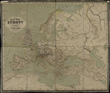 Visečí mapa Europy