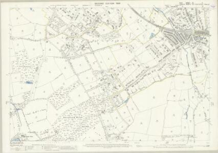 Kent XV.4 (includes: Beckenham; Bromley) - 25 Inch Map