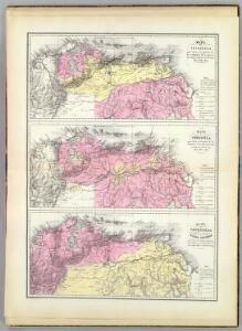 Mapa de Venezuela ... guerra de independencia.