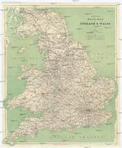 Cycling road-map of England & Wales