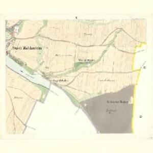 Moldautein - c8143-1-010 - Kaiserpflichtexemplar der Landkarten des stabilen Katasters