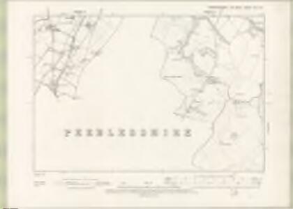 Edinburghshire Sheet XIX.NE - OS 6 Inch map
