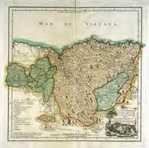 Mapa del m. n. y m. l. señorio de Vizcaya