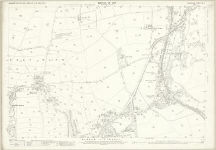 Lancashire XXI.4 (includes: Barrow In Furness; Dalton In Furness) - 25 Inch Map