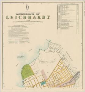 Leichhardt, 1st ed. 18.1.39, sheet 1(2) (col)