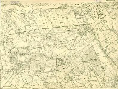 III. vojenské mapování 4960/1