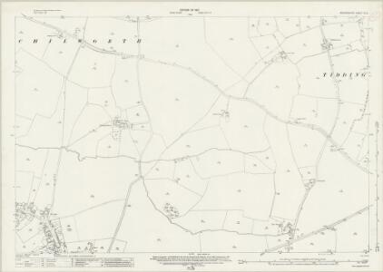 Oxfordshire XL.8 (includes: Great Milton; Tiddington with Albury) - 25 Inch Map