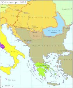 Südosteuropa 1862