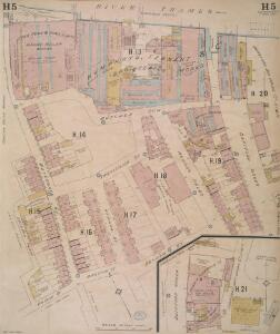 Insurance Plan of London East South East District Vol. H: sheet 5
