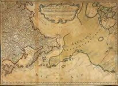 Nouvelle carte des decouvertes faites par des vaisseaux russiens aux côtes inconnues de l'Amerique septentrionale avec les pais adiacents