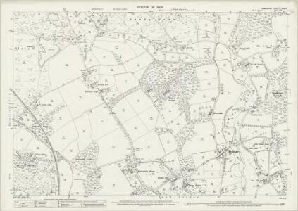 Hampshire and Isle of Wight LXXX.10 (includes: Boldre; Sway) - 25 Inch Map