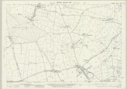 Somerset XI.8 (includes: Butcombe; Nempnett Thrubwell; Winford; Wrington) - 25 Inch Map