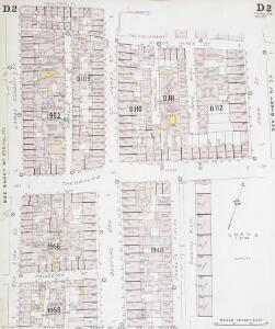 Insurance Plan of London North District Vol. D: sheet 2