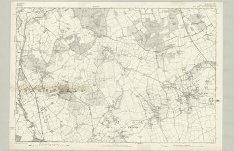 Buckinghamshire XLIX - OS Six-Inch Map