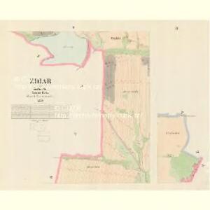 Zdiar - c9358-1-003 - Kaiserpflichtexemplar der Landkarten des stabilen Katasters