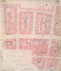 Insurance Plan of London Vol. VIII: sheet 205