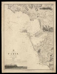The harbour of Cadiz