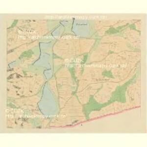 Metschichow (Meczichow) - c4542-1-003 - Kaiserpflichtexemplar der Landkarten des stabilen Katasters