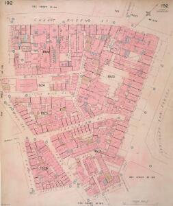 Insurance Plan of London Vol. VIII: sheet 192