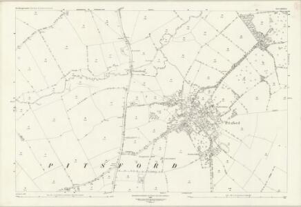 Northamptonshire XXXVIII.5 (includes: Brixworth; Moulton; Pitsford) - 25 Inch Map