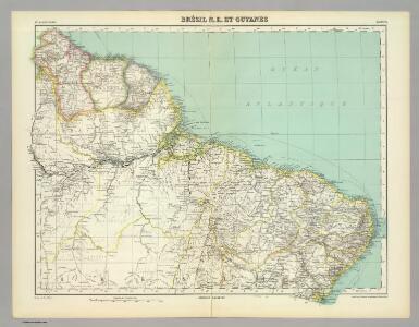 Brasil N.E. et Guyanes.