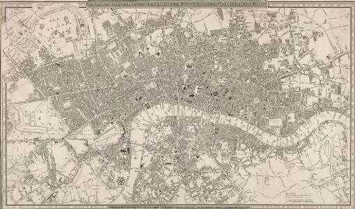 A NEW PLAN OF LONDON AND WESTMINSTER WITH THE BOROUGH OF SOUTHWARK 227