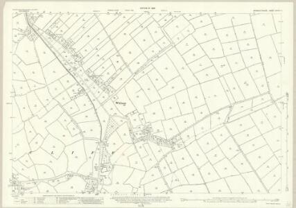 Monmouthshire XXXIV.11 (includes: Goldcliff; Redwick; Whitson) - 25 Inch Map