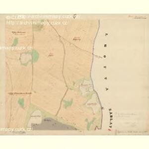 Dinin - c1639-1-009 - Kaiserpflichtexemplar der Landkarten des stabilen Katasters