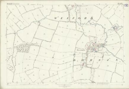 Gloucestershire III.3 (includes: Bickmarsh; Bidford on Avon; Dorsington; Pebworth; Welford on Avon) - 25 Inch Map