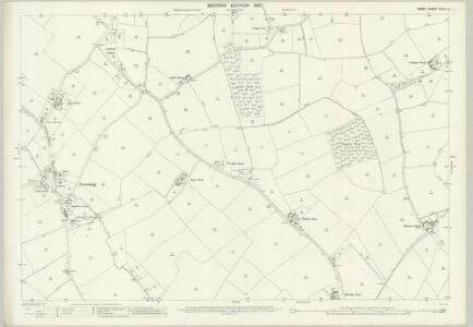 Essex (1st Ed/Rev 1862-96) XXXIV.4 (includes: Bradwell; Cressing; Witham) - 25 Inch Map