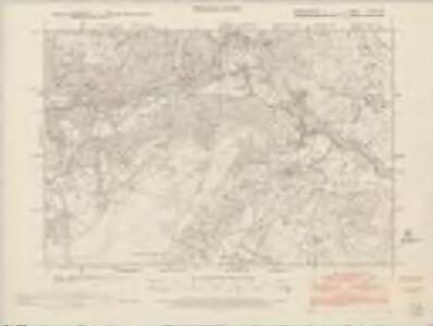 Denbighshire XXIII.NW - OS Six-Inch Map