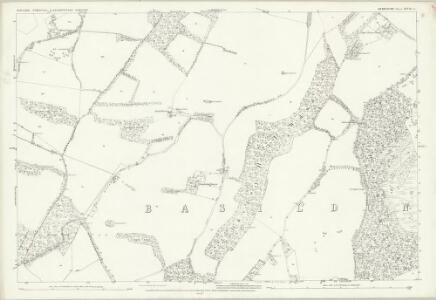 Berkshire XXVIII.6 (includes: Ashampstead; Basildon; Streatley) - 25 Inch Map