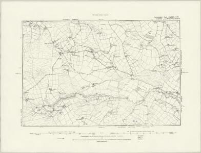 Cardiganshire XXXIII.SE - OS Six-Inch Map