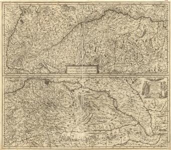 Maximi totius Europae Fluminis Danubii Cursus per Germaniam Hungariamque