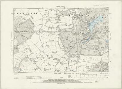 Lancashire CVII.SE - OS Six-Inch Map