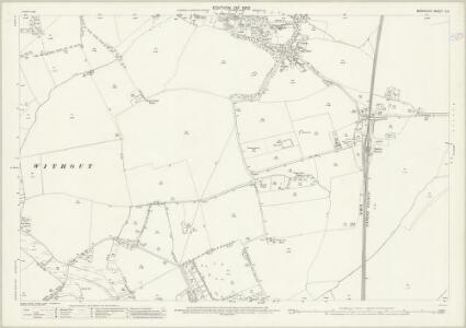 Berkshire X.3 (includes: Abingdon; Radley) - 25 Inch Map