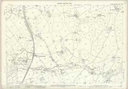 Monmouthshire XIX.1 (includes: Goetre Fawr; Gwehelog Fawr; Llanarth Fawr; Llanover Fawr) - 25 Inch Map