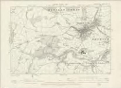 Denbighshire XIII.NE - OS Six-Inch Map